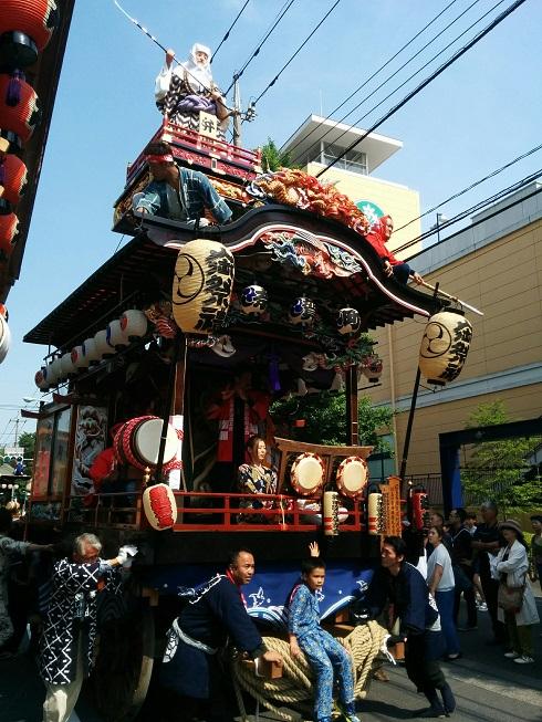 拝島奈賀町の屋台