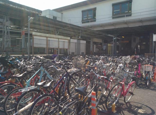 JKSサイクルパーク中神駅前駐輪場