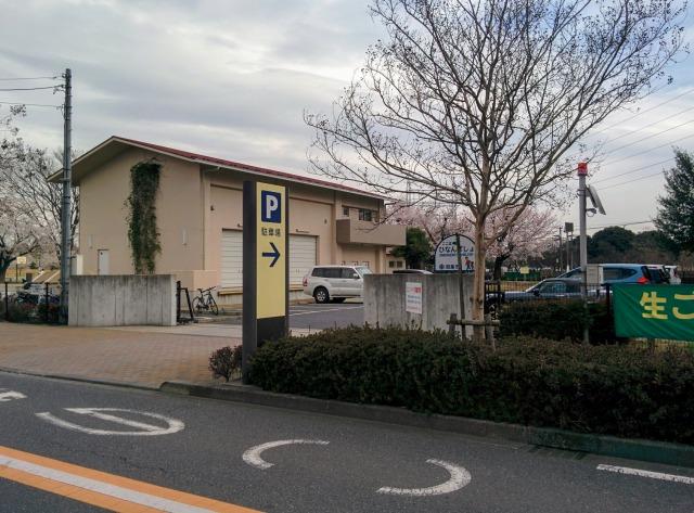 エコ・パークの駐車場