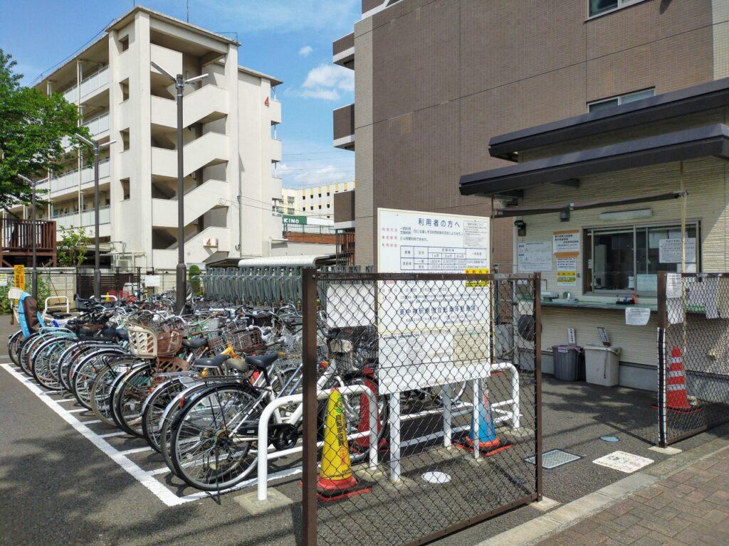 東中神駅南側自転車等駐車場