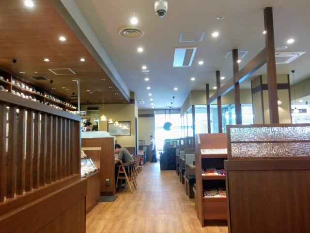 倉式珈琲店イトーヨーカドー昭島店の店内