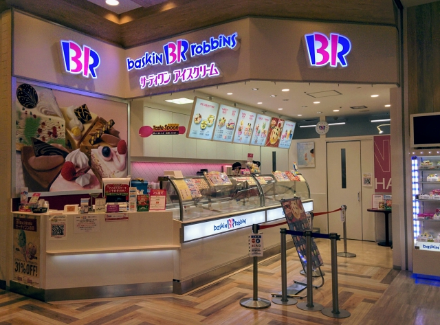 モリタウン昭島のサーティワンアイスクリーム