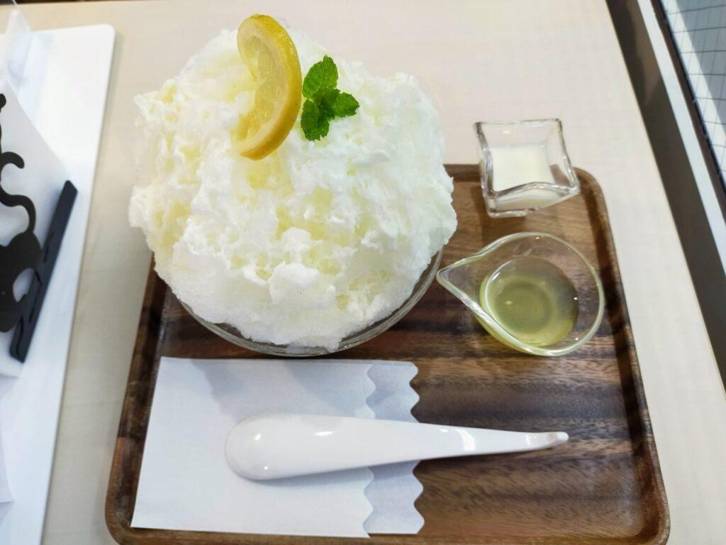 カフェ不二のレモンミルク