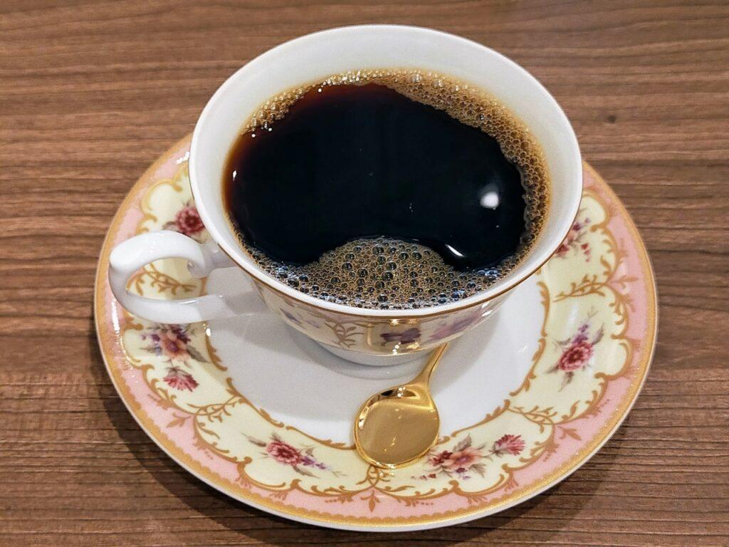 ELEFANTE FELICEのコーヒー